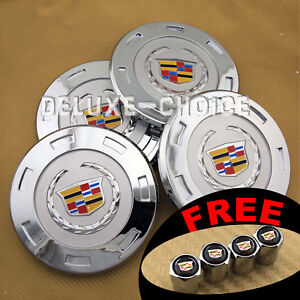 Set Of 4 Silver Car Alloy Rim Emblem Wheel Center Hub Cap Logo 200mm 8