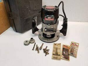 Craftsman Model 315 17480 Fixed Based 25000 Rpm Heavy Duty Router Free Shipping