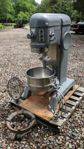 Hobart 60 Qt Mixer H 600 208 Volt 3 Phase Excellent Condition