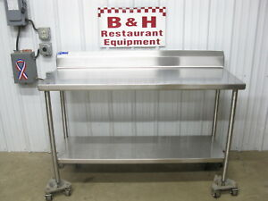 60 X 24 Universal Stainless Steel Heavy Duty Work Prep Table W Under Shelf 5