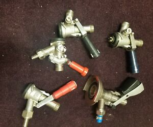 Lot Of 5 Micro Matic Draft Beer Tap Keg Coupler System