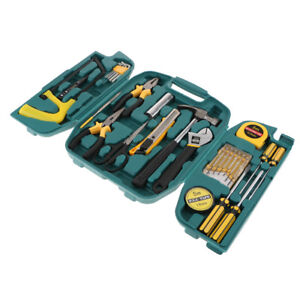Lc8027 Professional Electrician Tools Kit Home Repair Tool Set With Case