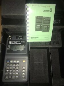 Wandel Goltermann Spm 33 Hand held Selective Level Meters Range