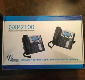 new Grandstream Gxp2100 Office Display Phone