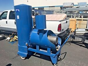 7 5 Hp Spencer Turbines Industravac Vacuum With Hose pa 407a