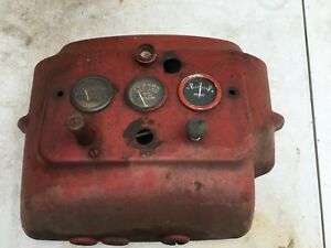 Minneapolis Moline Dash Gauge Panel Ignition Rat Rod Gauges Farm Tractor Vtg