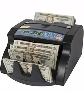 Royal Sovereign Money Counting Machine High Speed Bill Counter Rear Dollar