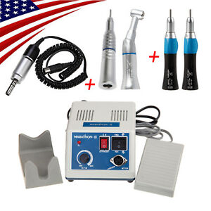 Dental Marathon Micromotor 4 Low Speed Handpiece 2 Straight 2 Contra Angle Mix
