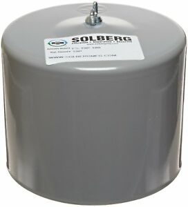 Solberg Fs 19p 100 Filter Silencer 1 Mpt Outlet 6 5 8 Height 6 Diameter