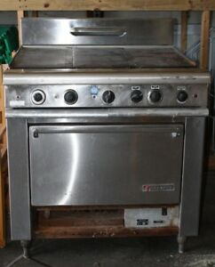 Garland Commercial Double Range Stove Good Working Condition