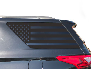 Chevy Traverse Usa Flag Decals Fits Rear Window 2018 2019 Lt Ls Premier Te8