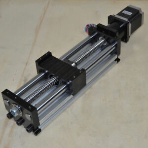 400mm Ball Screw Linear Cnc Slide Stroke Long Stage Actuator Stepper Motor