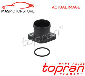 Coolant Flange Pipe Cylinder Head Longitudinal Front Topran 107 637 P New
