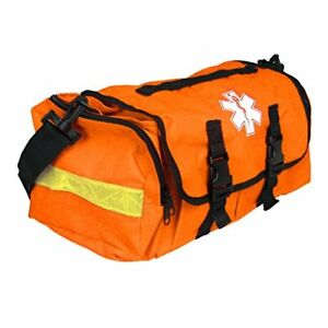 Rescue Bag Empty First Responder On Call Trauma Kit Bag With Reflectors Orange