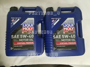 10 Liters Engine Motor Oil Liqui Moly Premium Fully Synthetic 5w 40 For Mercedes