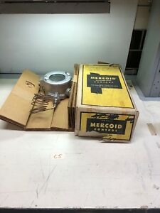 New In Box Mercoid Dah 35 153 Explosion Proof Pressure Control Switch Dah35153