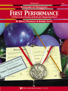 STANDARD OF EXCELLENCE-FIRST PERFORMANCE FOR