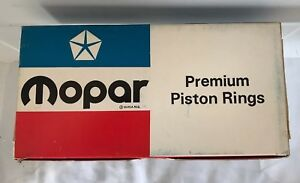 New Old Stock Mopar 1959 1971 383 Cu Piston Ring Set Standard Bore