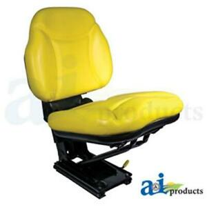 Re62227 Yellow Seat Assembly W Suspension Fits John Deere 5200 5300 5400