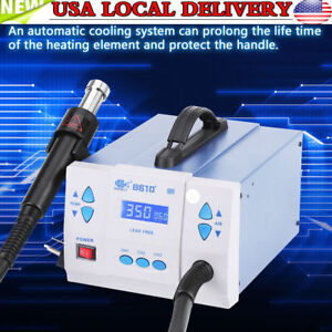 861d quick Soldering 1000w Digital Hot Air Gun Rework Station Machine