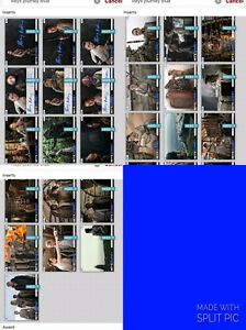 Topps Star Wars Trader Rey's Journey Blue Set wDual Signatures