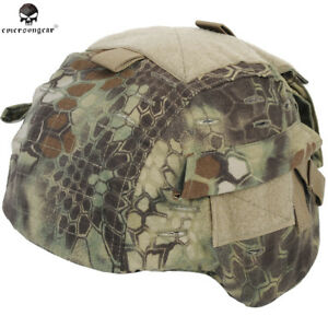 Tactical Helmet Cover Camouflage Military Outdoor Camo Mich Digital Emerson Army