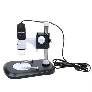 Usb Digital Microscope Endoscope Camera Magnifier 2mp Led 8 Stand 1000x Zoom Vid