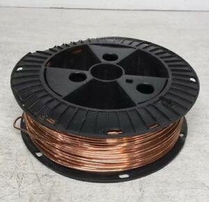 Southwire 10632802 8 Guage Solid Bare Grounding Copper Wire Spool 15lbs
