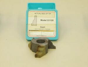 Grizzly Shaper Cutter G1120 Carbide 3 4 Bore Sash