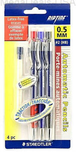 6 pack Staedtler Riptide Mechanical Pencil 3per Pack 98405abk3 Al