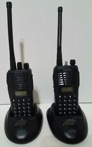 2 Relm Bk Rpv599aplus 99 Channel Vhf Alpha Numeric Fpp Portable Radio W Bases 3