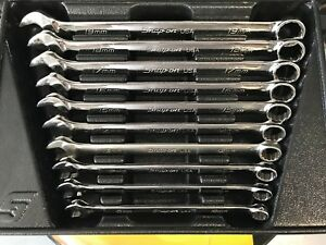 Snap On Flank Drive Long Metric Wrench Set