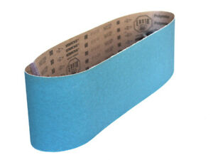 Sanding Belts 6 X 48 Zirconia Cloth Sander Belts 4 Pack 24 Grit