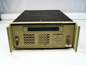 Wavetek 2410 Synthesized Signal Generator 01 1100mhz