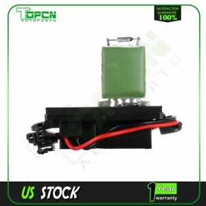 Car Parts For Gmc Chevrolet Car Hvac Heater Blower Motor Resistor 89019089 New