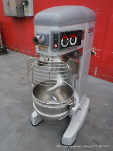 Hobart Legacy Hl 600 60 Qt Dough Mixer With Bowl And Hook