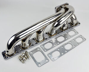 T3 Flange Stainless Steel Turbo Manifold Fits Bmw E36 92 98 M50 M56 I6