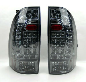 Led Rear Tail Lights Smoke Smoked Pair Rh Lh For Toyota Tacoma 05 14