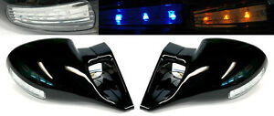 M3 Led Front Manual Door Side Mirrors Pair Rh Lh For Honda Prelude 92 96