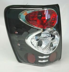 Black Altezza Tail Lights Fits Jeep Grand Cherokee 99 04