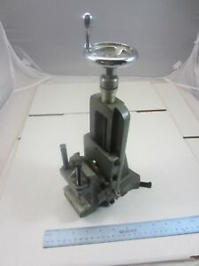 Nice Original Atlas Craftsman 10 12 Lathe Milling Attachment 10 501