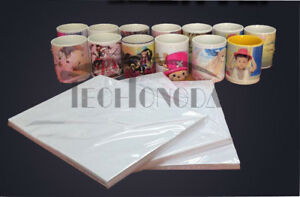 100sheets package A4 Quick Drying Dye Sublimation Transfer Paper Heat Press Mug