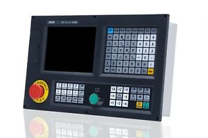 Absolute Type 4 Axis Cnc engraving milling machine controller With Plc atc macro