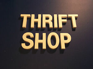 Thrift Shop Foam Sign Letters For Indoor Outdoor Wall Signs