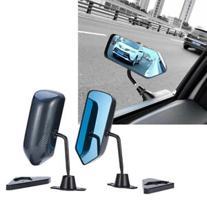 2pcs Universal Side View Car Mirrors For Suv Car Truck Van Traffic Safety