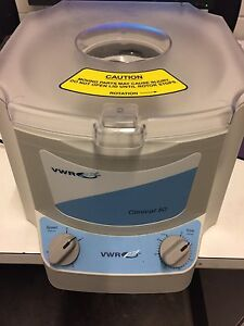 Vwr Clinical 50 Centrifuge 82013 800 With Rotor