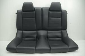 2009 2010 2011 2012 2013 Ford Mustang Gt Coupe Black Rear Back Seats