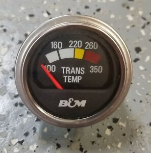 B M Transmission Oil Temp Gauge