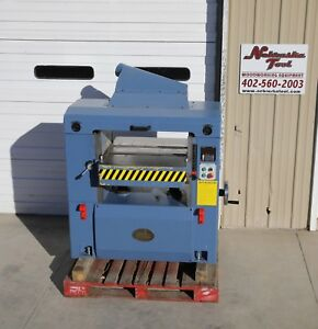 Oliver 25 4470 Wood Planer 15 Hp 3 Ph Helical Head Digital Control