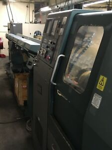 Hardinge Conquest T42 Cnc Turning Lathe W Live Tooling Barfeed